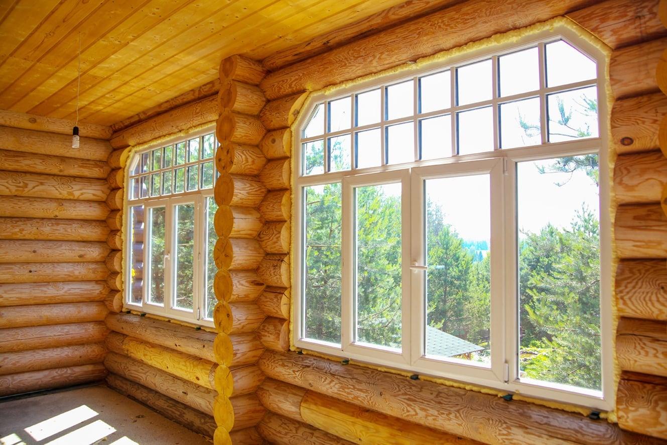 окна в дом варианты фото абсолютно круглые